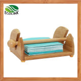 Bamboo Tissue Rack Paper Dispenser
