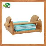 Bamboo Tissue Rack Paper Dispenser