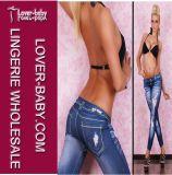 New Fashion Jeans Printed Sexy Legging (L9475)