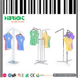 Three Way Arms Garment Clothes Display Rack