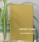 2-12mm Yellow Frosted Mirror/No Fingerprint Mirror/Safety Mirror