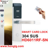304 Stainless Steel Keyless Electronic Hotel Door Lock (HD6011)