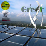 Grid Tie Hybrid Solar Wind Power System for Home Use