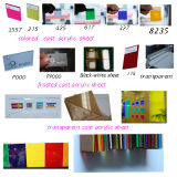 2014 PMMA Transparent Colored Cast Acrylic Sheet