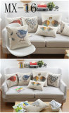 Cotton Pillow Thick Section Sofa Bed Waist Nordic Style Cushion