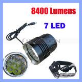 7 LED CREE LED Headlamp with 8400 Lumens