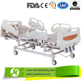 3 Cranks Manual Hospital Bed with ABS Railing (CE/FDA)