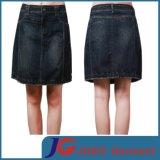 Women Knee Length A-Line Denim Skirts (JC2095)