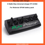 Gp340 Charger/6 Way Universal Charger for Motorola Gp340 Radios
