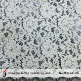 High Quality White Bridal Lace Fabric (M2160-MG)