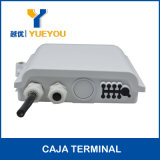 IP65 Waterproof 8/12 Fibras PLC Splitter FTTH Fiber Optic Distribution Box/Cajas De Distribucion