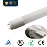 0.6m TUV Approved T8 Ceiling Luminaire 9W 130lm/W LED T8 Tube with Internal Driver
