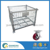 Top Quality Metal Hanging Type Wire Mesh Container with Wheels