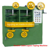 High Speed Double Layers Wire Cables Taping Machine