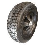 "10 Inch 10""X3.3"" Semi-Pneumatic Solid Hollow Rubber Wheel"