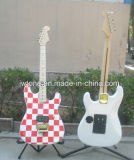 Watertransfer Body Top Skunt Neck Back Inlay Guitar
