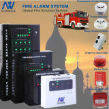 Multifunctional 2-Wire Bus Conventional Fire Alarm Security Panel