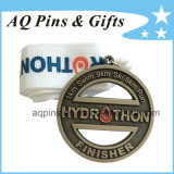 Custom Zinc Alloy Medal with Gritty Finish