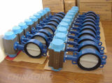 Carbon Steel pneumatic Butterfly Valve with Flange