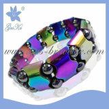 Magnetic Hematite Bracelet Jewelry (2015 Gus-Htb-056)