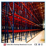 China Nanjing Truck Tyre Steel Beam Upright Extra-Heavy Duty Pallet Rack System
