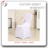 Pure White Wedding Event Hall Feast Chair Cover (YT-81)