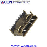HDMI 19 P Mother 90 & Deg; SMT, The Iron Shell DIP with 7.5 Plastic Column Foot Without Screw Hole