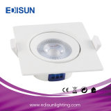 7W Square Recessed COB LED Spotlight for Saloon