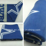 Super Soft 100% Polyester Cheap Plain Travel Airline Blanket
