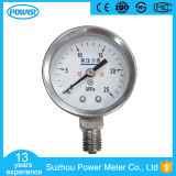 1.5inch-40mm Bottom Type Chrome Plate Oxygen Pressure Gauge Use No Oil