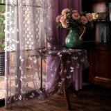 Butterfly Embroidered Tulle Curtains Gauze Fabric Curtains