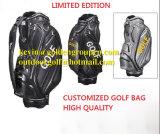 Custom Made 100% Waterproof Golf Caddie Bag/ Golf Cart Bags, 6 Way 9′′