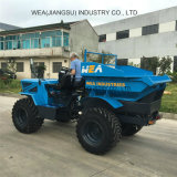 Agriculture Loader Tractor 18 HP 2 Tons Usded in Palm Oil Farm