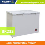 12V 24V Solar Powered Deep Freezer Upright Freezer