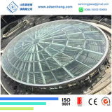 Clear Laminated Tempered Glass Skylight