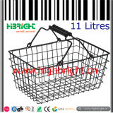11 Litres Small Metal Hand Basket for Beauty Shop