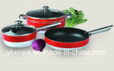 Kitchenware 5PCS Aluminum Non-Stick Cookware Set