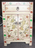 Chinese Antique Reproduction Bedstand Wooden Cabinet Lwb008-1
