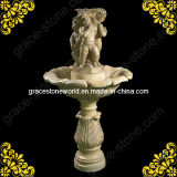 Natural Marble Hand Carved Garden Fountain