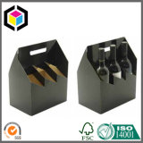 Corrugated Cardboard 6 Pack Wine Carrier Paper Box