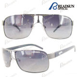 Classic Metal Branded Gentleman Sunglasses with Uv400 En1836 (SM606001)