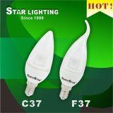 Ultra Bright SMD 6W C37 LED Candle Bulb