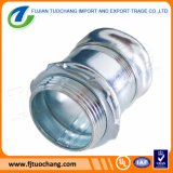 """1/2""""-4"""" Electrical Galvanized Compression Type EMT Connector"""