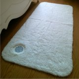 Hotel Bath Mat Home Bath Mat in White Colour with Embroidery Logo