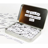 Personalized Product Fridge Sticker Poetry Words Magnetic