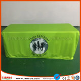 Jarmoo Printed Green Background Color Fabric Cloth Fitted Table Cover