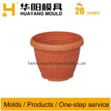 Injection Mould for Plastic Round Flower Pot