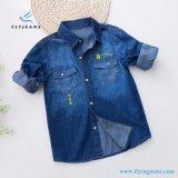Fashion Spring Thin Boys′ Long Sleeve Denim Shirt by Fly Jeans