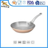 3ply Stainless Steel Body Copper Clad Frypan (CX-SNF02)