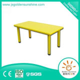 Indoor Playground Kid Plastic Preschool Furniture Table with Ce/ISO Certificate